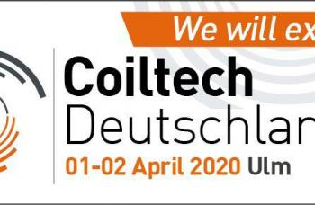 COILTECH ULM is postponed to 2021! It will now be held for the first time in March next year!